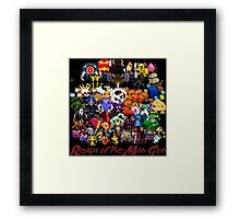 Realm of the Mad God - Fear the Gods Framed Print