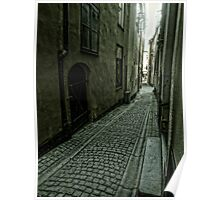 Gamla Stan, Stockholm, by Tim Constable Poster