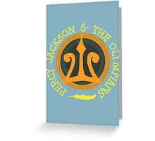 Percy Jackson Logo Greeting Card