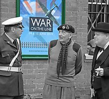 Monty and Winston - War On The Line - 2014 by Colin J Williams Photography
