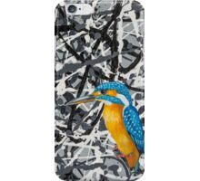 Oil Painting of a Kingfisher iPhone Case/Skin