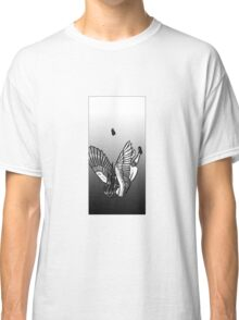 Falling angel - Black and white image Classic T-Shirt