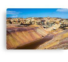 Parys Mountain Copper Mine  Canvas Print