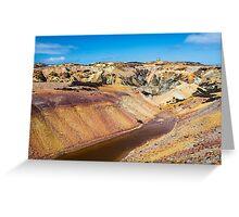 Parys Mountain Copper Mine  Greeting Card