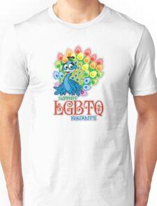 LGBTQ Peacock Unisex T-Shirt