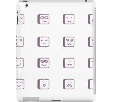 Robot emotions iPad Case/Skin
