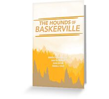 THE HOUNDS OF BASKERVILLE  Greeting Card