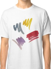 brush doodle small pattern  Classic T-Shirt
