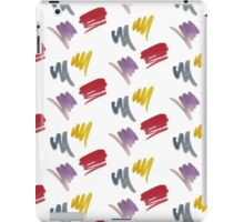 brush doodle small pattern  iPad Case/Skin