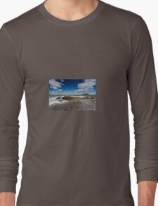 Trwyn Du Lighthouse on the Isle of Anglesey Long Sleeve T-Shirt