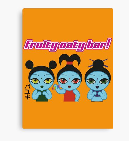 Fruity Oaty Bar! Shirt (Firefly/Serenity) Canvas Print