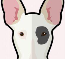 Love My Bull Terrier Sticker