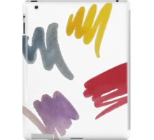 brush doodle large pattern iPad Case/Skin