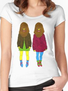 chew_2 Women's Fitted Scoop T-Shirt