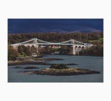 Menai Suspension Bridge, Anglesey Kids Tee