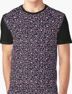 Ditsy Floral Pattern Graphic T-Shirt