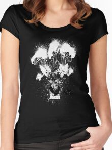Blue-Eyes Ultimate Dragon Women's Fitted Scoop T-Shirt