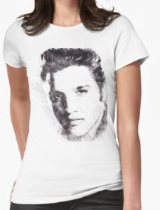 Elvis presley portrait 02 Womens Fitted T-Shirt