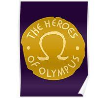 Heroes Of Olympus Poster