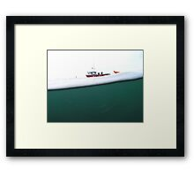 Above and Below the Sea Framed Print