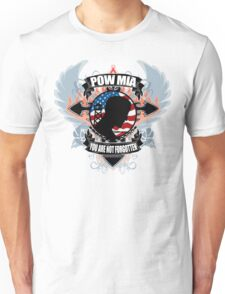 POW MIA You Are Not Forgotten Unisex T-Shirt