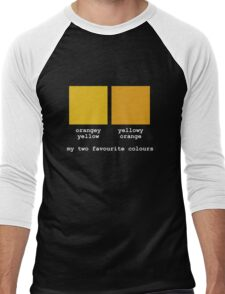 My Two Favourite Colours Men's Baseball ¾ T-Shirt