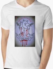 Love Hurts - Rec Mens V-Neck T-Shirt