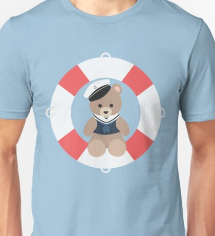Sailor Bear Unisex T-Shirt