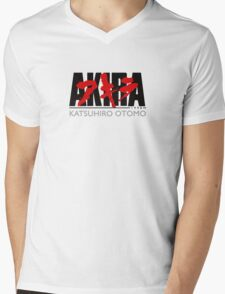 Manga Akira Anime Mens V-Neck T-Shirt