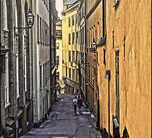 A stroll through Stockholm old town, by Tim Constable by Tim Constable