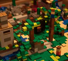 Minecraft Legos by Eramdam