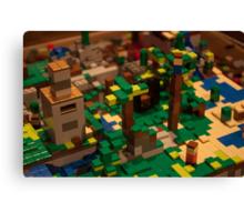 Minecraft Legos Canvas Print