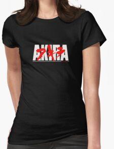 Manga Akira Anime Womens Fitted T-Shirt