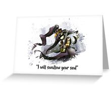Veigar art Greeting Card