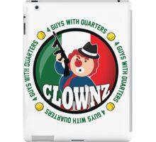 Italian Clownz- 4 Guys With Quarters iPad Case/Skin