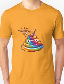 Poopcorn (I Am Magical Too!) Unisex T-Shirt