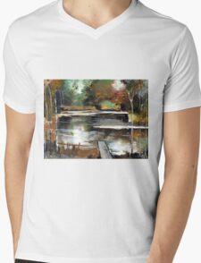 Deeper Mens V-Neck T-Shirt