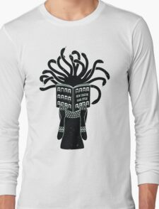 Medusa hairstyle  Long Sleeve T-Shirt