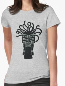 Medusa hairstyle  Womens Fitted T-Shirt