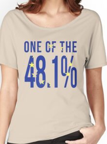 One Of the 48.1% Women's Relaxed Fit T-Shirt