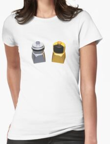 Lego Duplo Daft Punk Womens Fitted T-Shirt