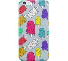 "Ice cream pattern (""mltng"") iPhone Case/Skin"