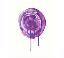 Melting Swirl Art Print