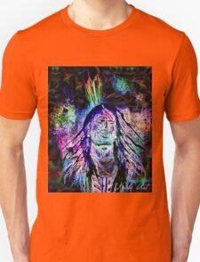 """""""Aura Vibration""""  Cozme Duarte as Chief Red Cloud Unisex T-Shirt"""