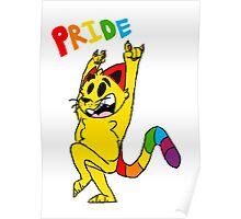 pride cat! Poster