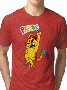 pride cat! Tri-blend T-Shirt