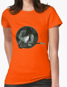 Stevie Ray Vaughan 2 Womens Fitted T-Shirt