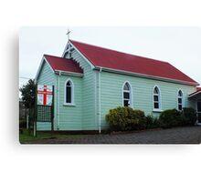 St Stephen's Anglican Church Whangarei NZ Canvas Print