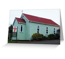 St Stephen's Anglican Church Whangarei NZ Greeting Card