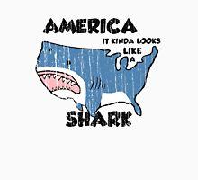 America is a Shark Unisex T-Shirt
